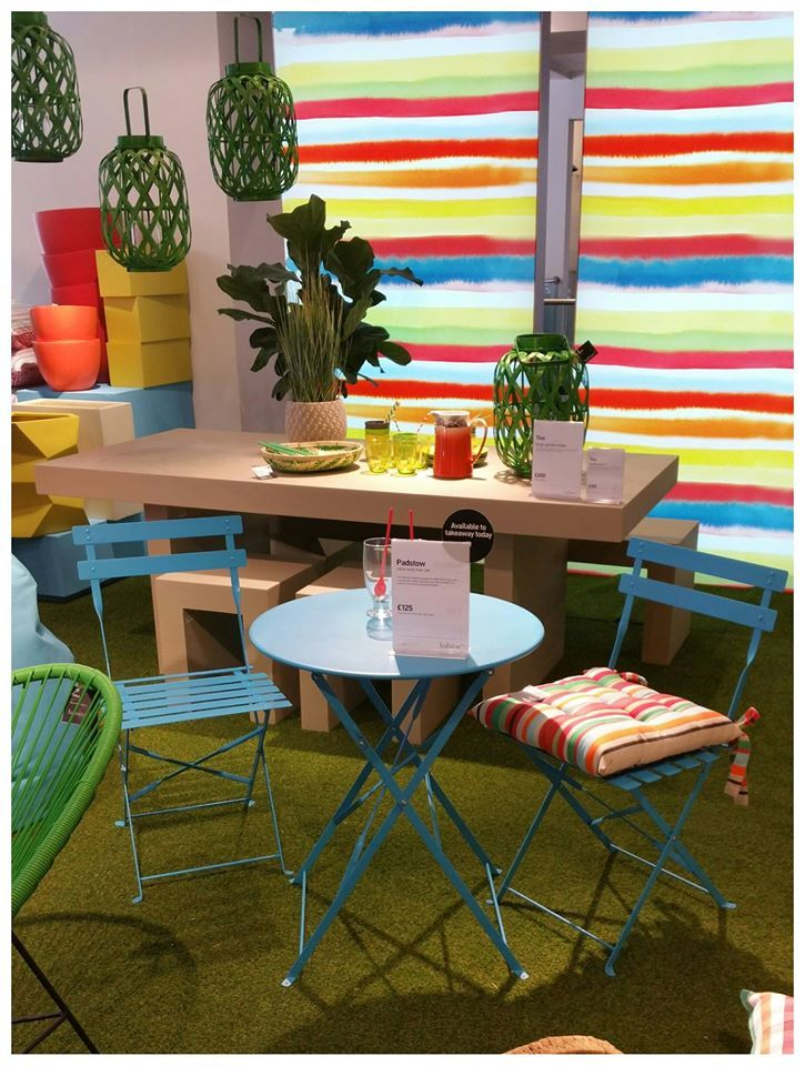 Bright & bold furniture is the way forward this summer. We love #Habitat's latest collection!