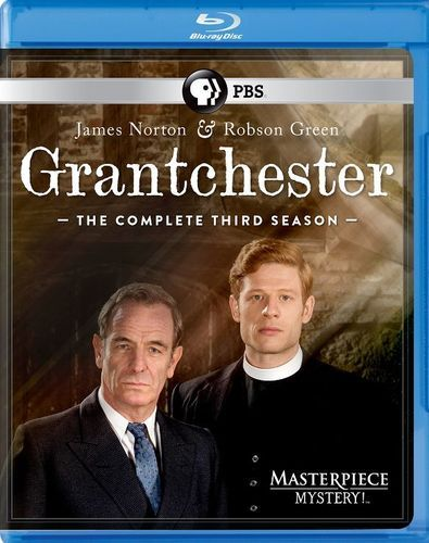Masterpiece Mystery!: Grantchester: Season 3 [Blu-ray] [3 Discs]
