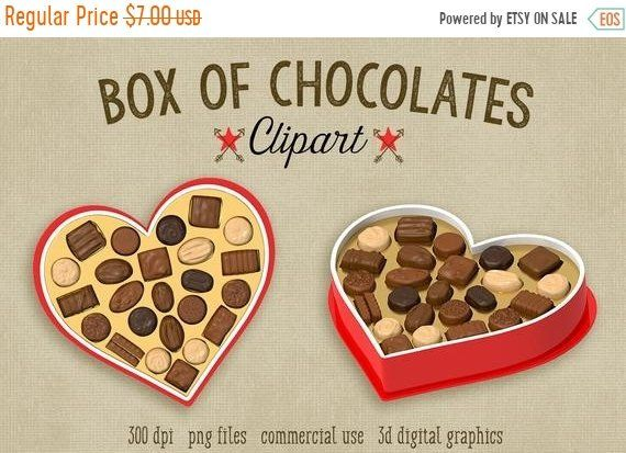 Valentine S Day Clipart Valentines Day Clipart Candy Etsy Valentines Day Clipart Chocolate Clipart Cupcake Toppers Printable