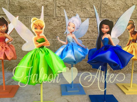 Pixie Fairies Tinker Bell Birthday Decoration por RosiesPoshParties