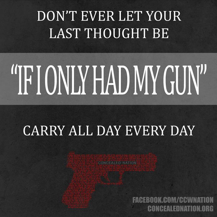 "...""If I only had my gun""..."