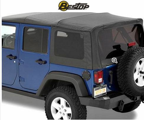 Supertop NX Soft Top 5472335 2007-2016 Jeep Wrangler