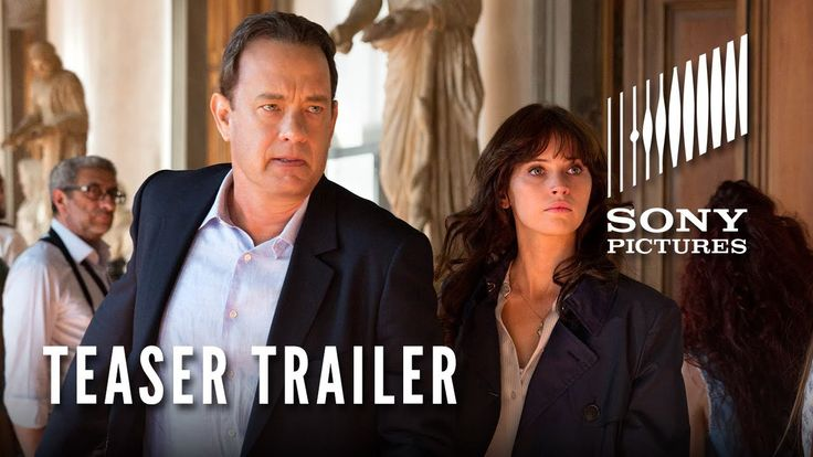 Inferno starring Tom Hanks - Teaser Trailer - http://www.trillmatic.com/inferno-starring-tom-hanks-teaser-trailer/ - For fans of The Da Vinci Code and Angels & Demons, a new sequel is on the horizon with Inferno starring Tom Hanks returning as Robert Langdon. #Inferno #TheDaVinciCode #InfernoMovie #TomHanks #RonHoward #Trillmatic #TrillTimes