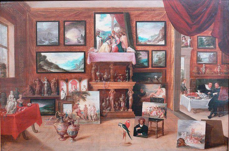 Eine frühneuzeitliche Kunst- und Wunderkammer (Maler, Titel, Datierung müssen noch nachgetragen werden)  Gallery: Reiss-Engelhorn-Museen, Mannheim