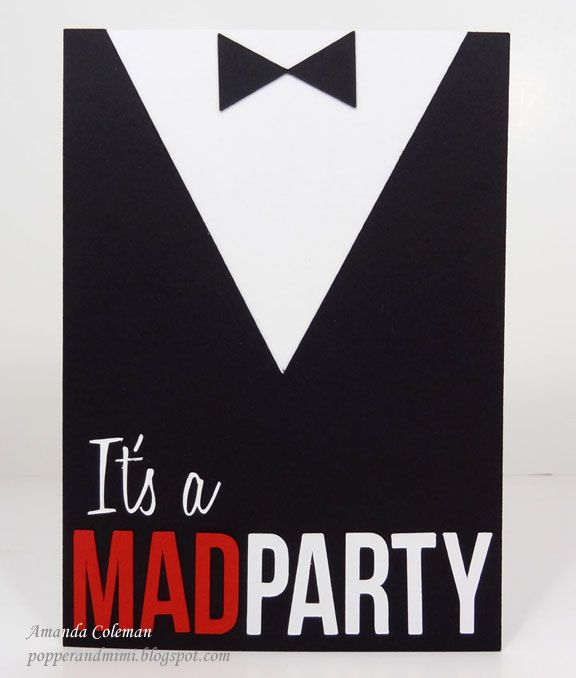 Popper & Mimi Paper Crafts: Mad Men Party Ensemble: A Birthday Creations Vol. 3 Share