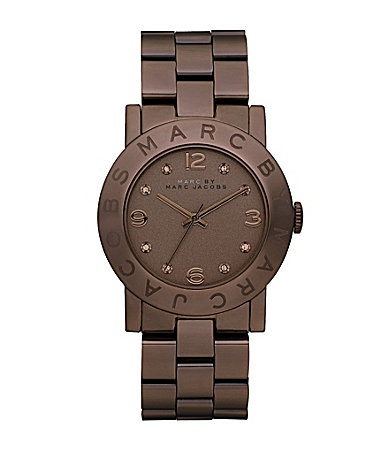 Marc by Marc Jacobs Amy Classic Brown Watch #Dillards...Work watch???
