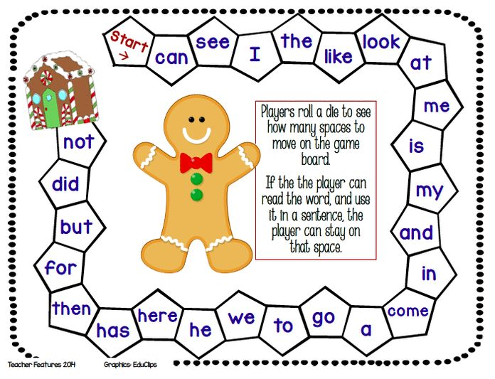 FREEBIE! FREEBIE! FREEBIE! Three winter-themed game boards for Kindergarten and First Grade! All you need to add is a die and player markers. Enjoy!