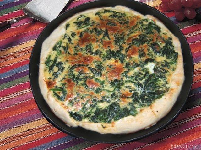 Quiche agli spinaci, scopri la ricetta: http://www.misya.info/2007/06/23/quiche-agli-spinaci.htm