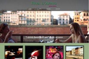Riva D'Arno Winebar www.rivadarnowinebar.it Realizzazione siti web professionali, progetti e-commerce, web marketing e gestione social