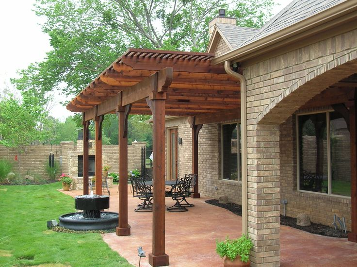 trellis and arbors for front entrance | Watercrest Pools and Outdoor Living