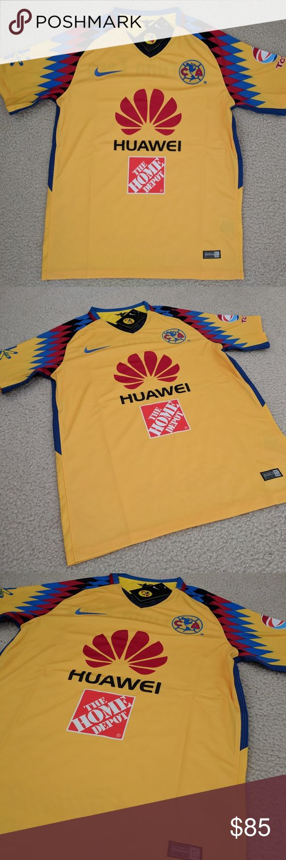 Nike Club America 3rd JERSEY 2018 Chivas Jersey Nike Club America 3rd JERSEY 2018 Chivas Tigres Rayados Rusia Mexico Cruz azul  This is the normal jersey not the players jersey. Nike Shirts