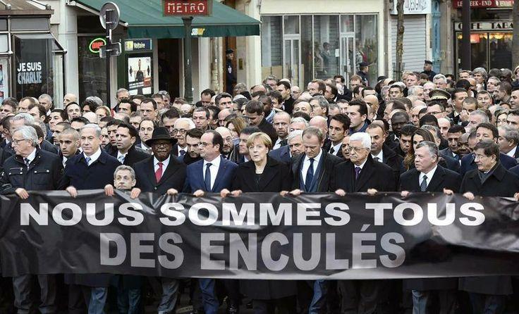 Erreur, il manque Obama. Truqué pour truqué.  Et, tiens, une autre erreur, Sarkozy est aussi grand que Hollande dans la réalité. Partialité et Exactitude des médias. Quand on joue à la vertu et au changement du sens des mots, pour un futur béat, toujours inaccessible.