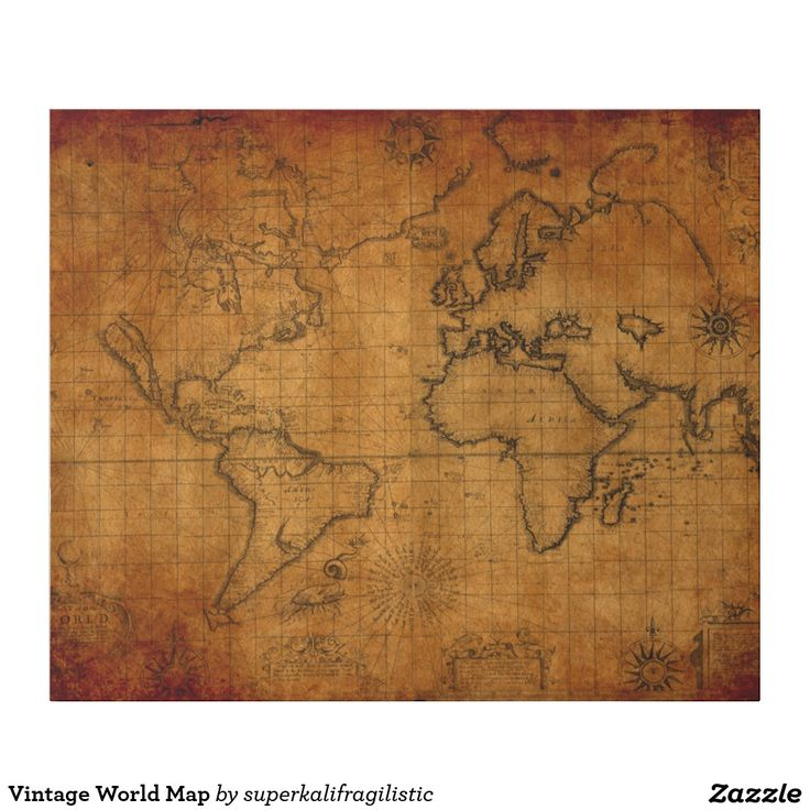 73 best custom wrapping paper images on pinterest christmas gift vintage world map wrapping paper gumiabroncs Choice Image