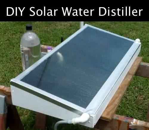 How To Build A Solar Water Distiller Http Homestead