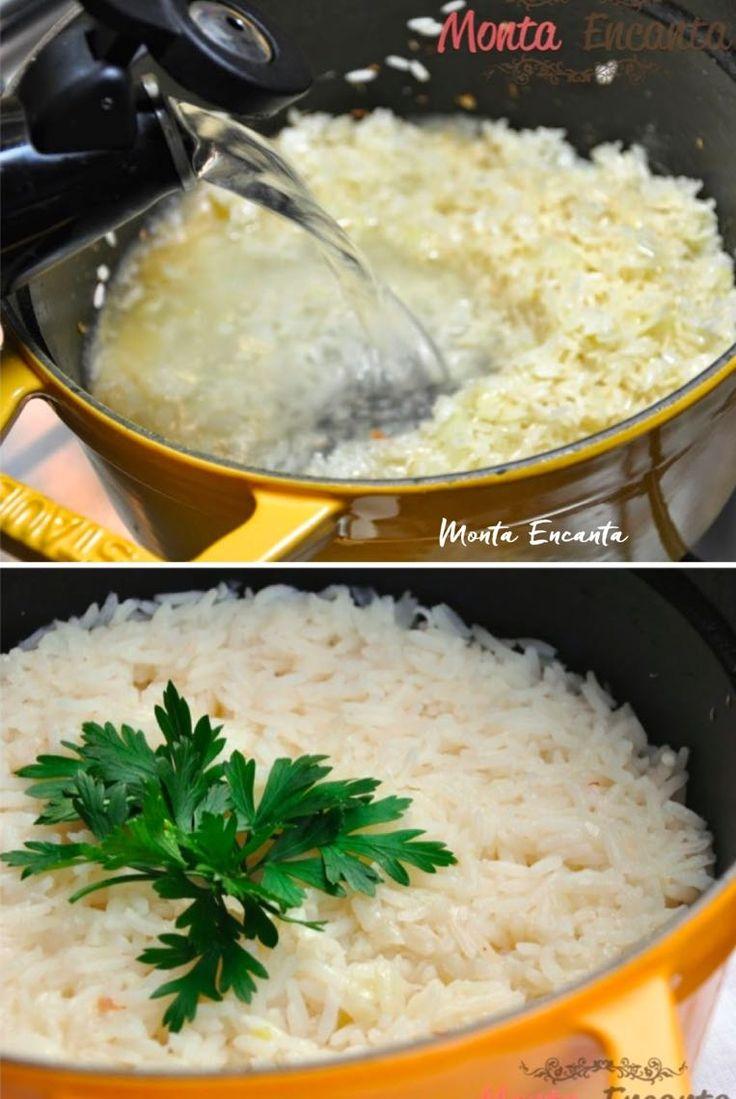 5 dicas para deixar o arroz bem branquinho e bem soltinho, nem sempre o mais simples é sinonimo do mais fácil. Lavar ou não lavar? Fritar ou não fritar?