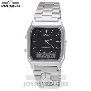 ⬆️😍✅ CASIO AQ-230A-1DMQ ✅😍⬆️ Increíble Modelo de la Colección de Relojes Casio PRECIO 26.28 € Lo puedes comprar en 😍 https://www.joyasyrelojesonline.es/producto/casio-aq-230a-1dmq-reloj-de-cuarzo-para-hombre-color-negro-y-plateado/ 😍 ¡¡Edición limitada!!