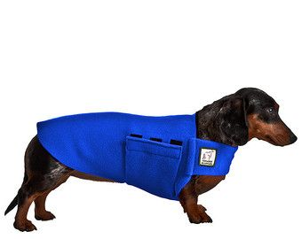 MINIATURE DACHSHUND Tummy Warmer, Dog Clothing, Dog Sweater, Fleece Dog Coat