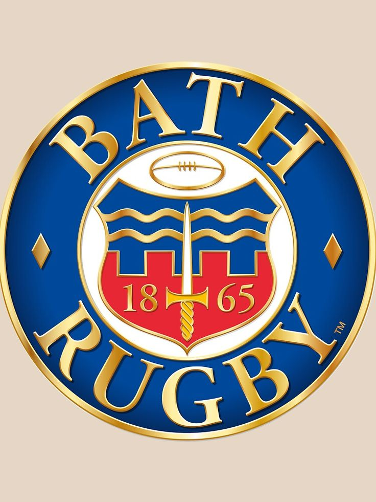 Bath Rugby T Shirt By Bendorse In 2020 Rugby Logo Rugby Poster Rugby