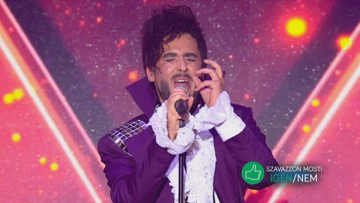Király Viktor: Purple Rain / Cream / Kiss (medley) / tv2.hu