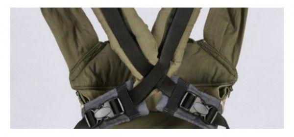 Cómo llevar tu mochila portabebés con los tirantes cruzados | Mochilas Portabebés - Tu tienda online de mochilas portabebés