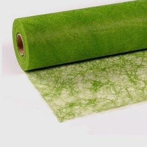 25 m x 30 cm Sizoflor® Vlies Original Tischband Tischläufer grün apfelgrün für Hochzeit