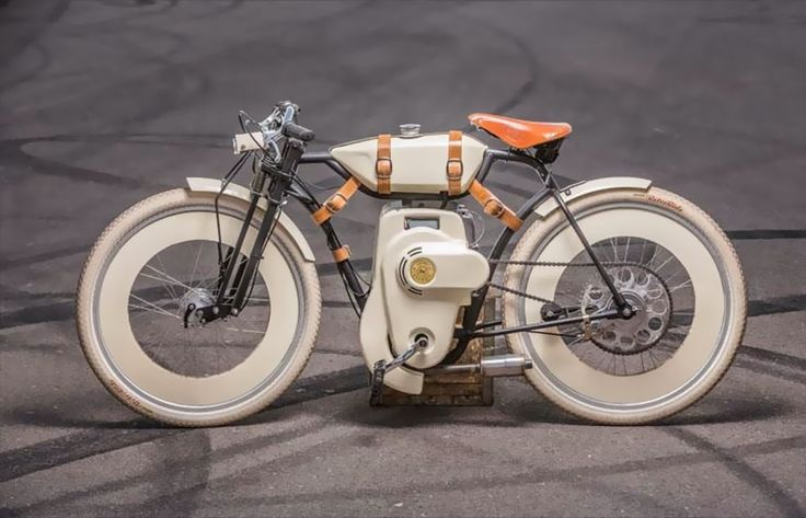 """Local Motors """"Cruiser"""" - a crowd funded bike powered by a Honda GXH50 motor"""