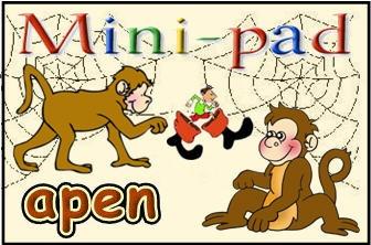Mini-pad apen