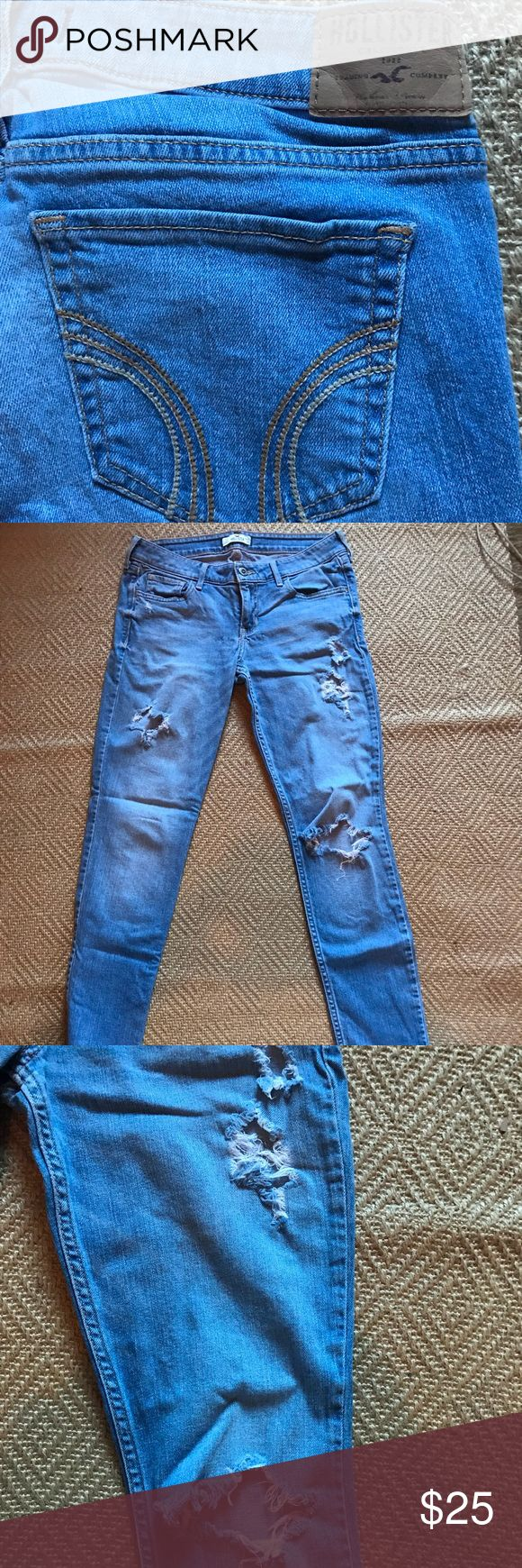 hollister ripped jeans ebay - 580×1740
