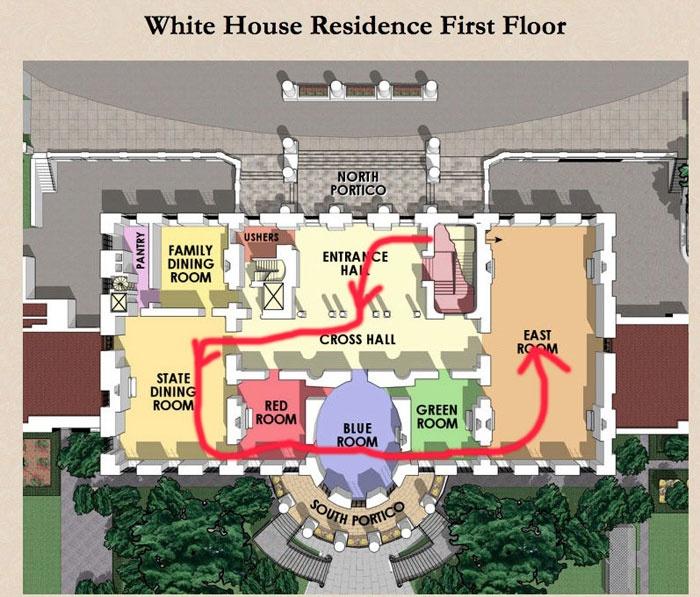 floor plans white house washington dc | house plan