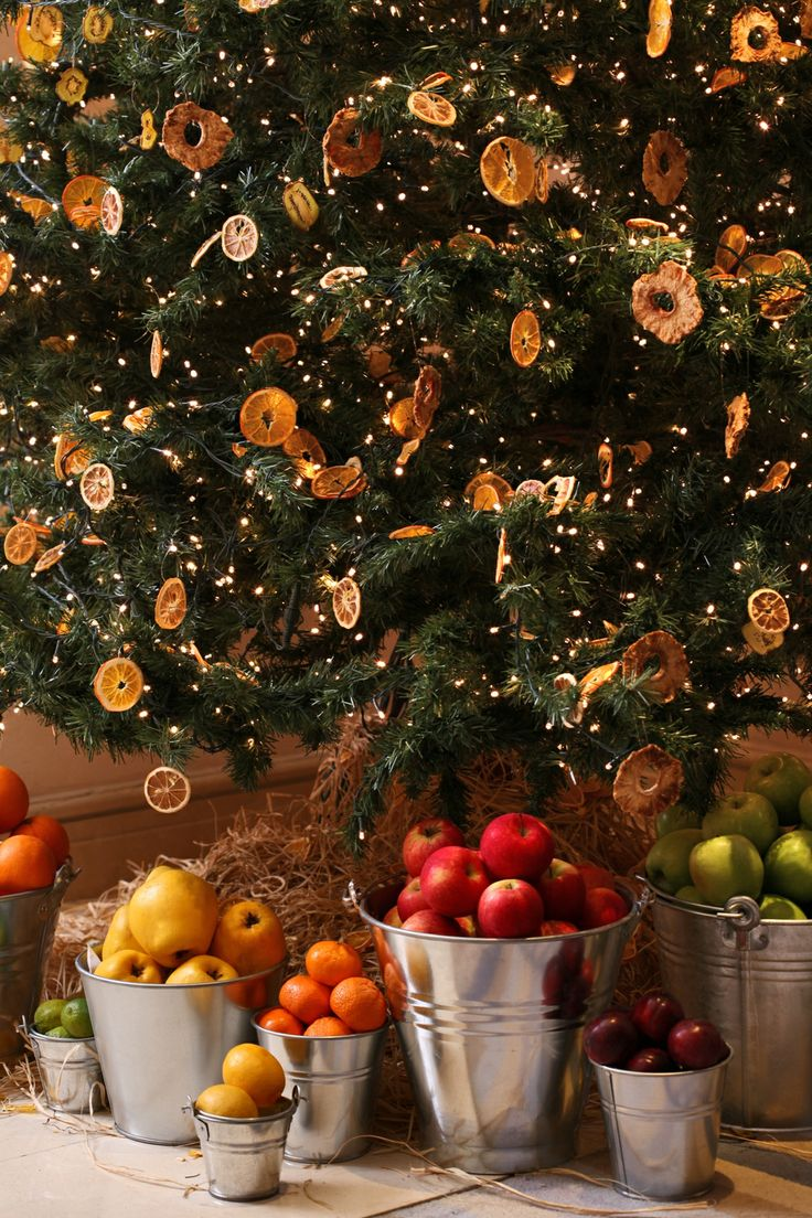 New Year at Four Seasons Hotel Sultanahmet #FSSultanahmet #FSHoliday New Year tree with fruits