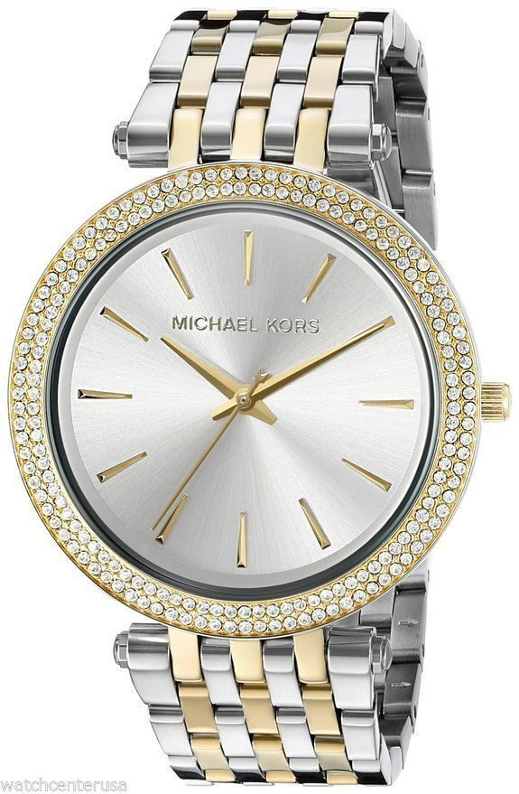 Michael Kors MK3215 Women's Darci Two-Tone Bracelet Watch in Jewelry & Watches, Watches, Parts & Accessories, Wristwatches | eBay