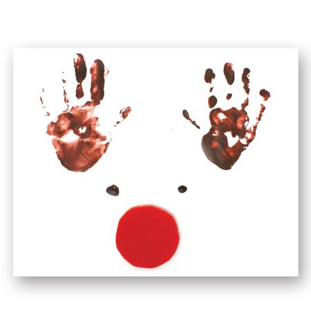 Best 25 Reindeer Handprint Ideas On Pinterest