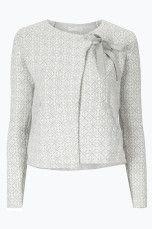 Odd Molly Cardigan Knitted Wings Lys grå, Mørk blå, Lys rosa - Dame - Cardigans | Ellos Mobile