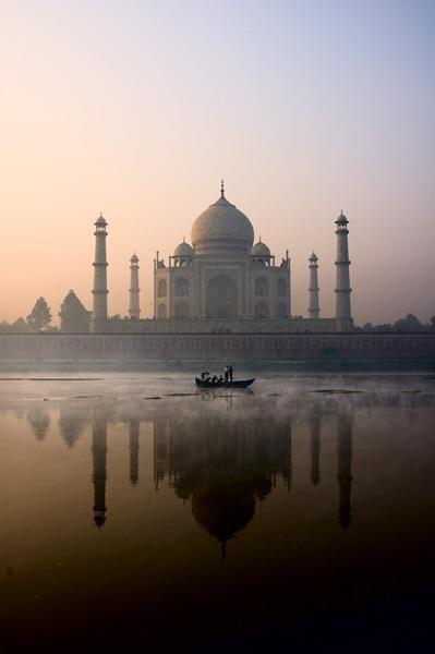 Done! ✔️  Even more beautiful in real! Taj Mahal in Agra, India