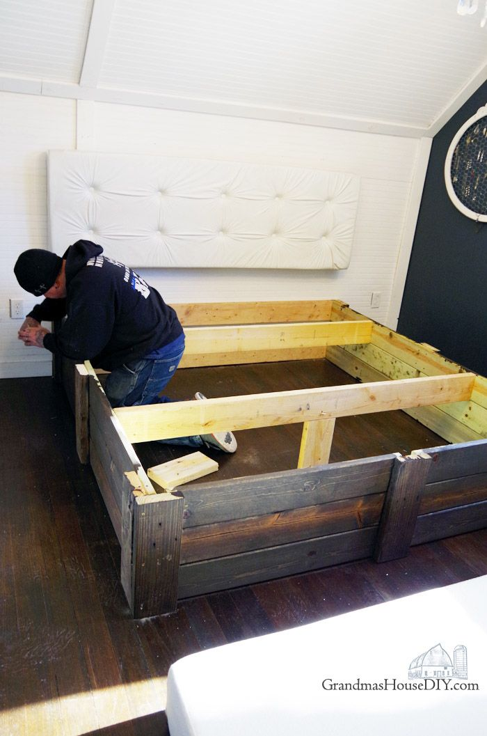 17 best images about best diy projects on pinterest for How to make your own platform bed