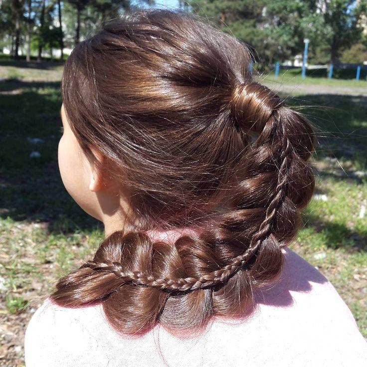 Коса на косе. // Braid on braid. https://www.youtube.com/watch?v=53ZtEuZwSHA
