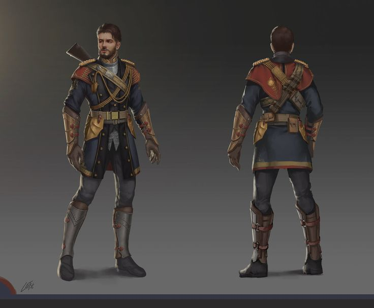 Character Design Competition : My entry for the character outfit design contest based on