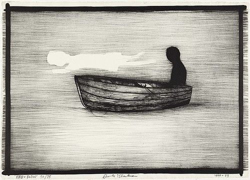 ebb and flow. Charles Blackman