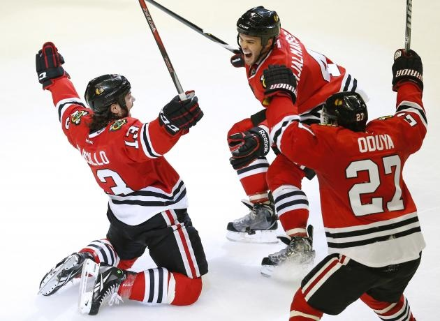 Chicago Blackhawks Best season start every 2013