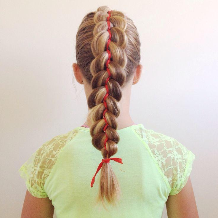 Dutch 5 strand ribbon braid