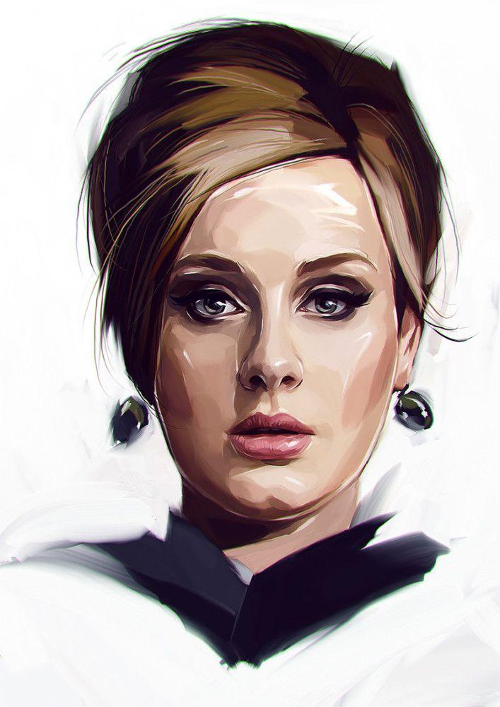 New Portraits by Viktor Miller-Gausa