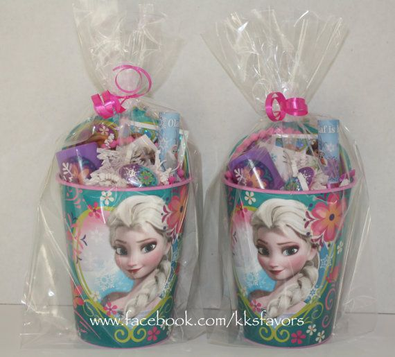 Frozen Favors Isabelle 39 S 7th Bday Pinterest Frozen