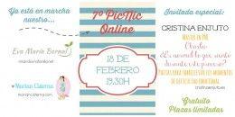 7º PicNic OnLine teniendo como invitada a Cristina Enjuto, terapeuta Gestalt y master PNL