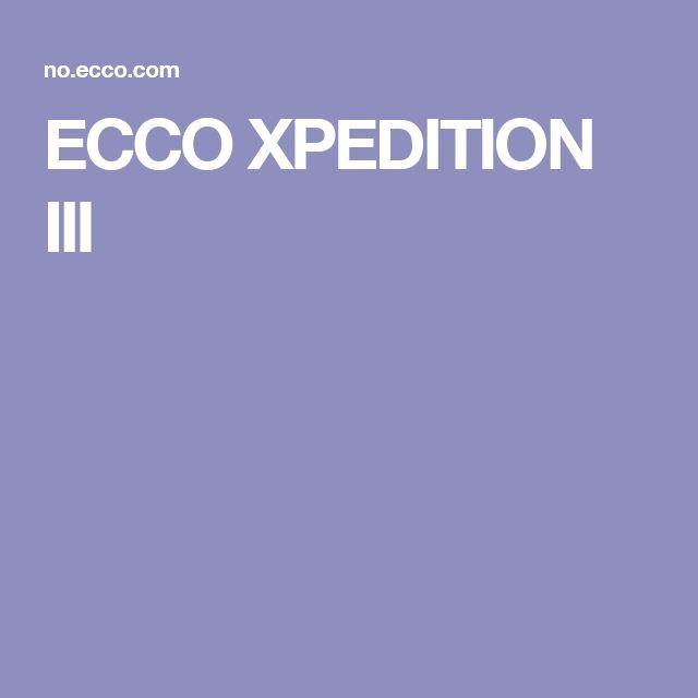 ECCO XPEDITION III