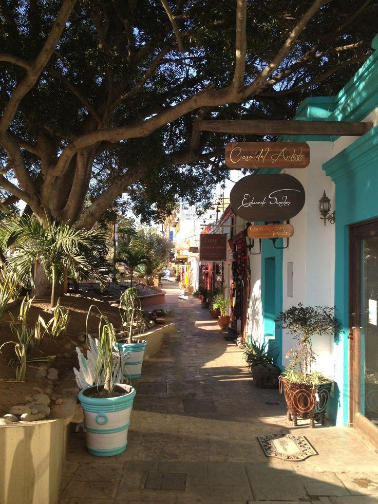 Downtown San Jose del Cabo, Mexico
