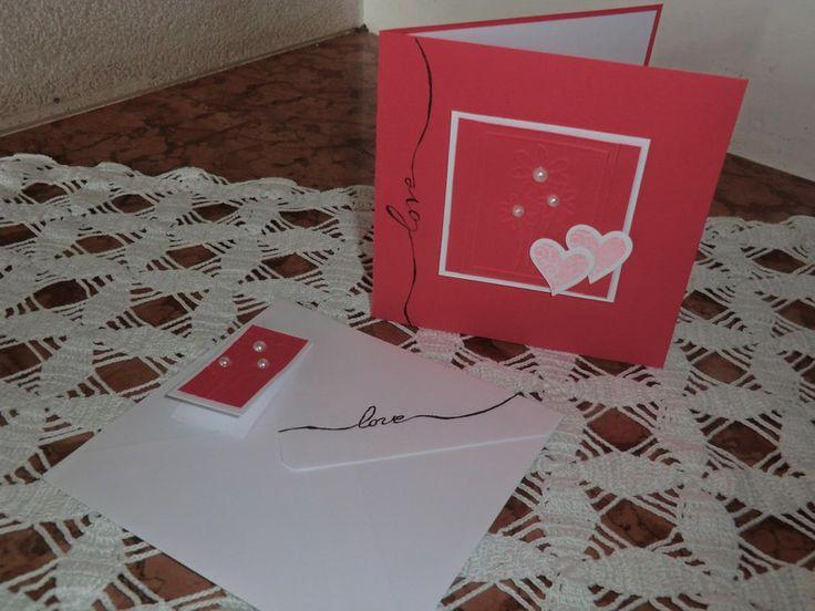 Inviti di matrimonio - PARTECIPAZIONE LOVE - un prodotto unico di Amaliag su DaWanda