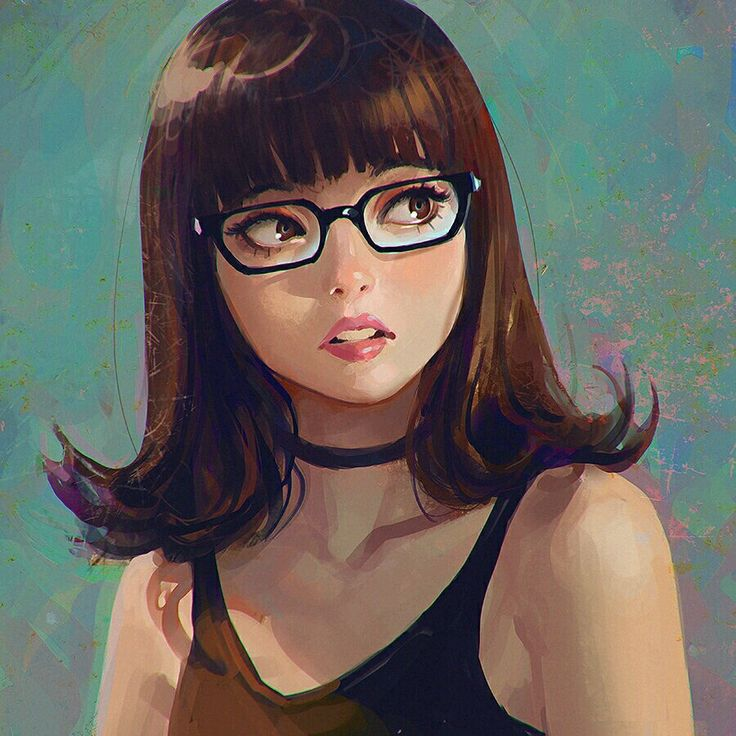 Art Girl, Art, Illustration