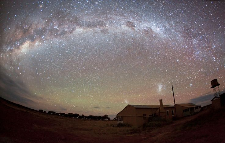 "Taken in Western Queensland Australia on a property (sheep and cattle station) named ""Salt Bush"". The buildings are the original and still used shearers accomodation and kitchen. While there was no moon and the longish exposure makes things appear slightly brighter than they were to the naked eye it was still possible to find my way around by star light (after about 20 mins of my eyes adjusting). The photo really does not do it justice, the stars were really something special...."
