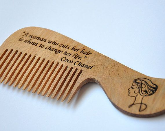 Le+donne+pettine+pettine+di+legno+pettine+di+legno