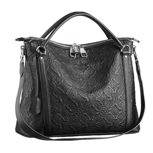 LOUIS VUITTON ANTHEIA IXIA PM M97071 -Calfskin leather trimmings and handles -Shiny silver brass hardware -Thin Toron handles and removable strap for shoulder carry -Double zipped closure -Interior zipped pocket and 2 patch pockets -Soft Microfibre lining -Base feet
